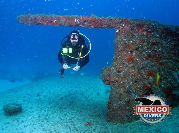Chairel Shipwreck Car Ferry Advanced Dive Isla Mujeres