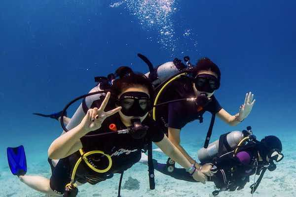 Beginners Diving with Instructor
